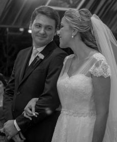 Elaine Lopes e José Carlos se casaram no dia 1º de maio de 2015 | Foto: Gustavo Correia