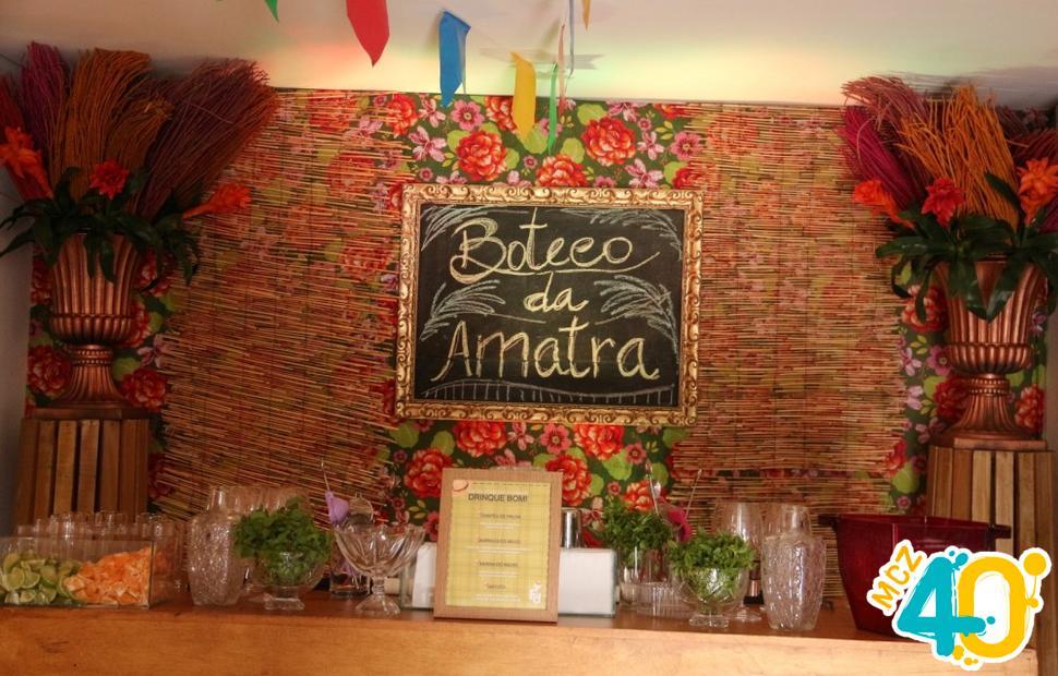 Foi com grande satisfação que realizamos a Ressaca Junina da Associação dos Magistrados do Trabalho 19ª Região (AMATRA), a animação foi garantida com o Grupo Idem, Feast Day Open Bar, Brebal (sonorização), Tatiana Brasil (buffet), Mariana Novaes (decoração), Living (móveis), Jambo (bebidas) e Maceió 40 graus (fotografia).